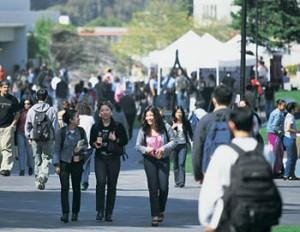 students campus photo